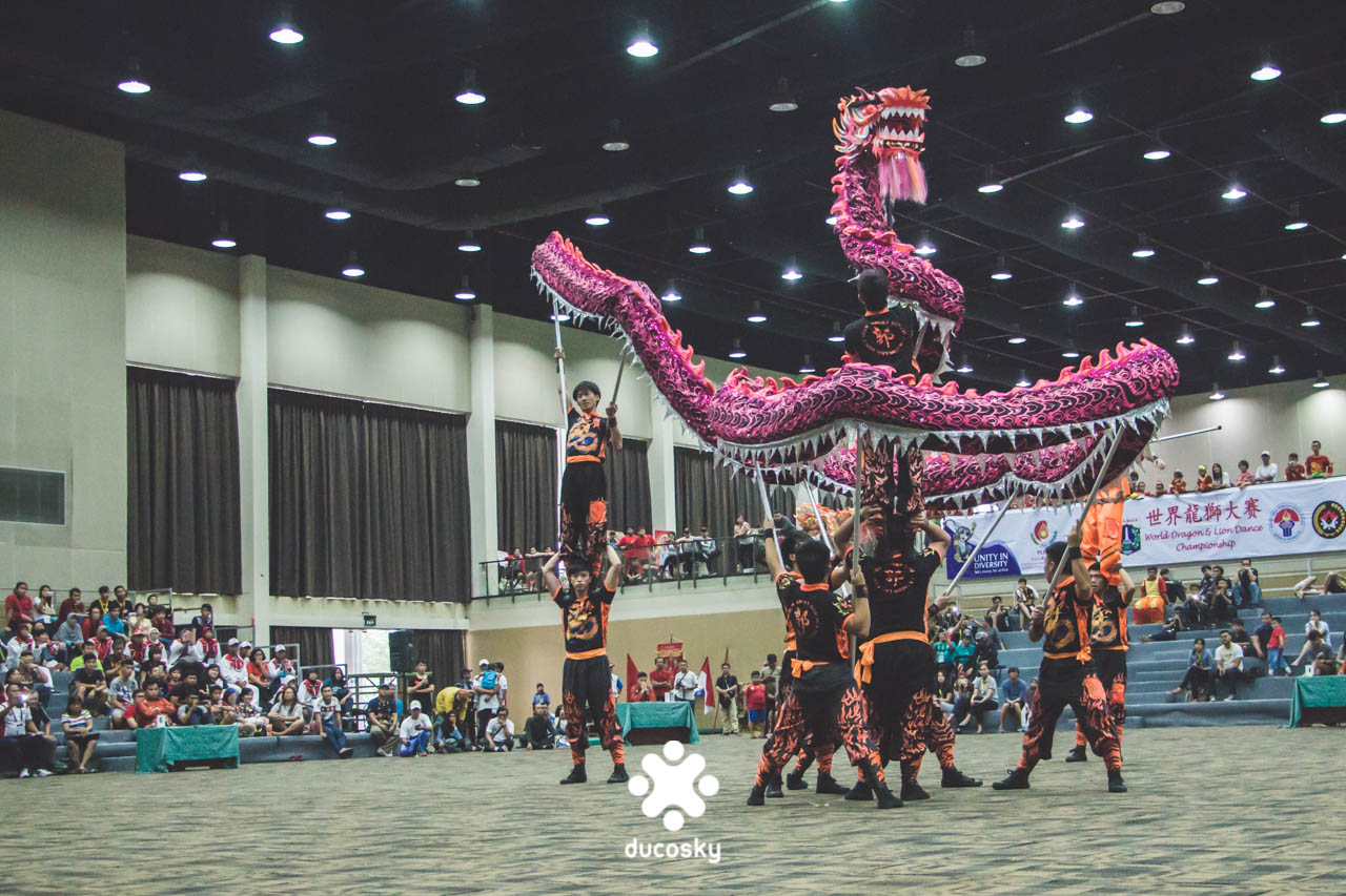 The Dragon Dance performance by Hongkong won the first place for Dragon Dance category.