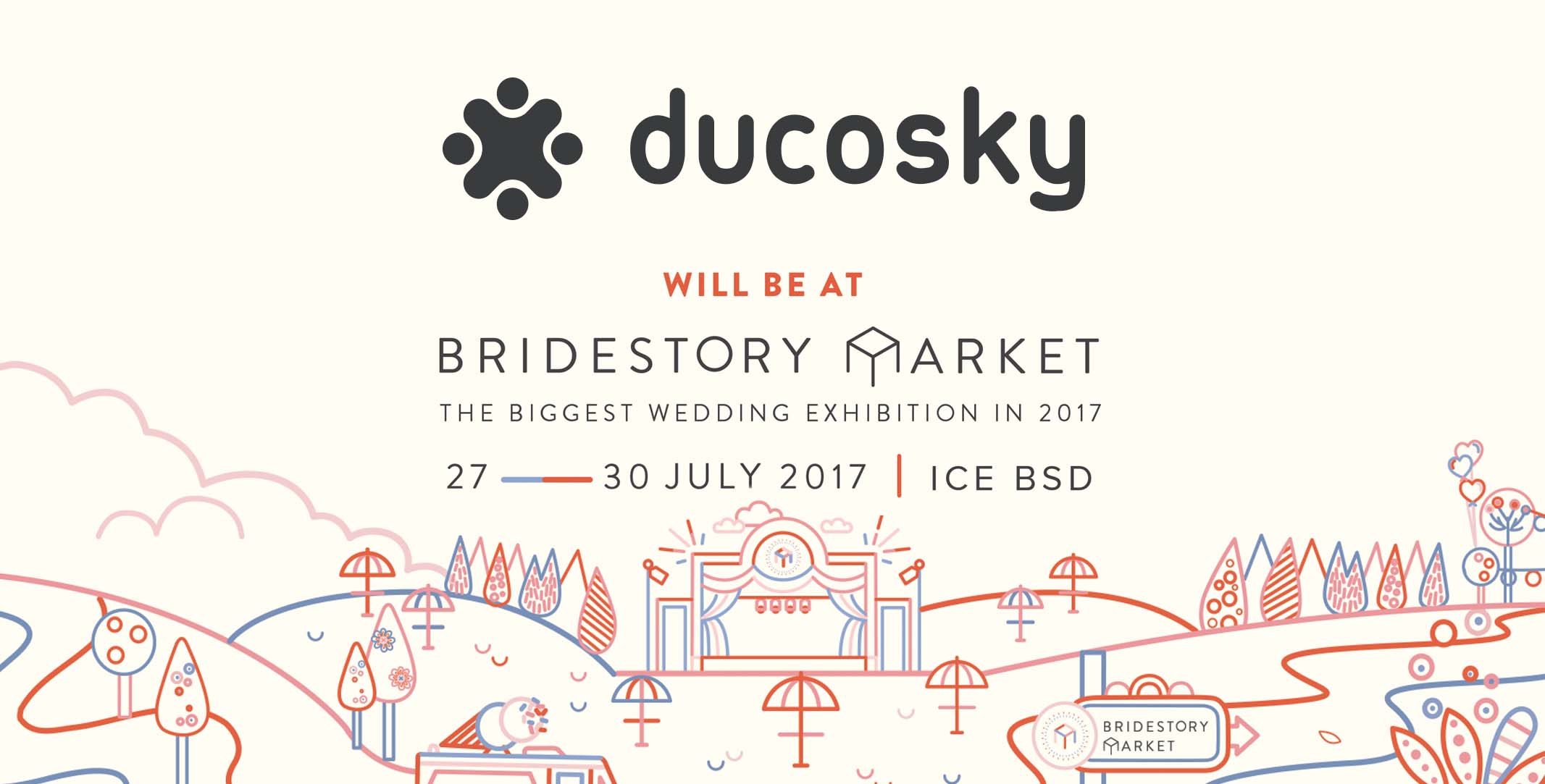 Ducosky at Bridestory Market: The Biggest Wedding Exhibition in 2017