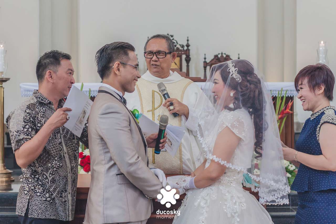 The Wedding: Agus & Yvonne