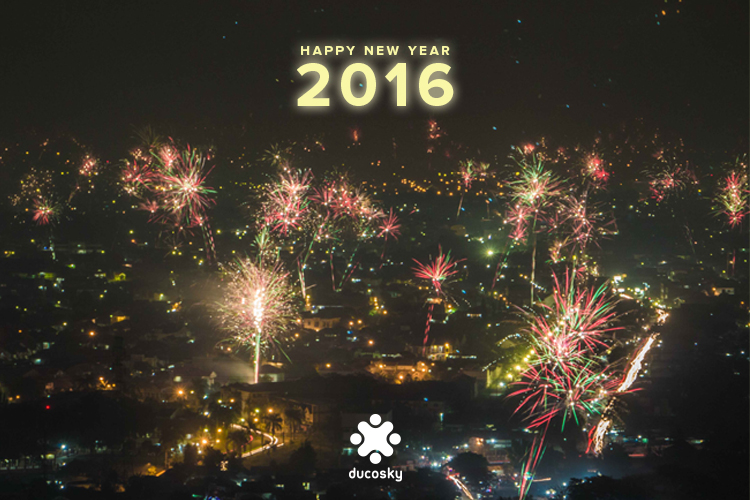 Happy New Year 2016 - Ducosky